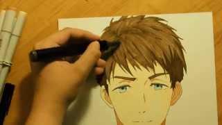 Free! Eternal Summer Speed Drawing- Sousuke Yamazaki