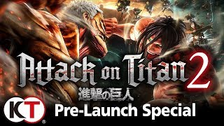 Attack on Titan 2 Pre-Launch Special