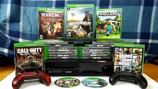 My Xbox One Game Collection - (2017)