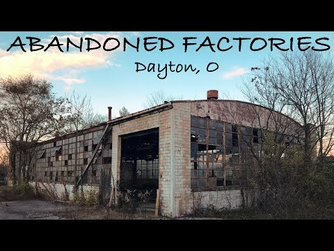 Urban Exploring 3 Abandoned Factories Next to Each Other in Dayton, Ohio