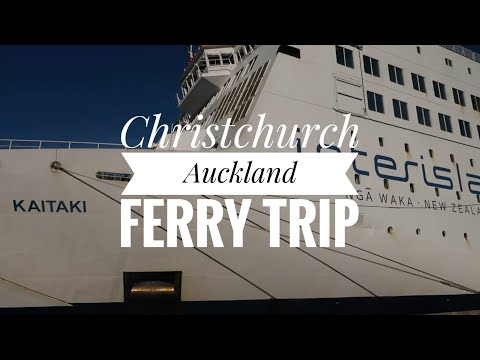 Christchurch To Auckland On Interislander Ferry Kaitaki & KiwiRail Coastal Pacific&Northern Explorer