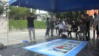 Batalla bboy´s en Soyapango San Salvador (Bboy luigi vs bijou)