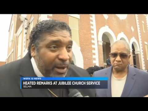 Churchgoers walk out of church - Voter ID Speech too political for Alabama