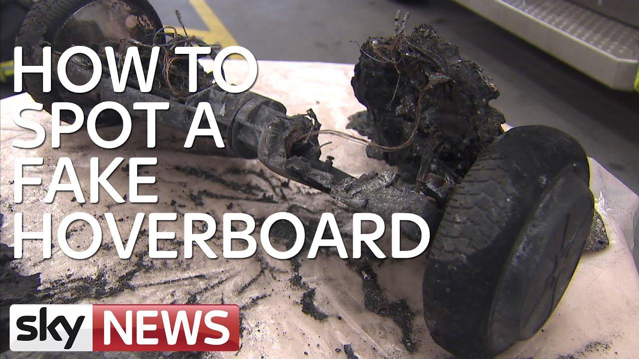 Hoverboard Fake