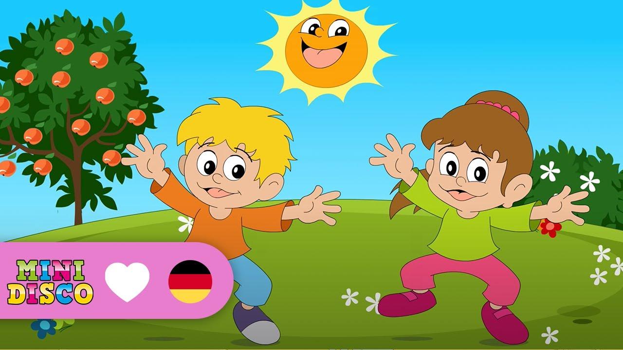 Deutsche Kinder Songs | NON-STOP | 15 CLIPS 38 MINUTEN | Minidisco ...