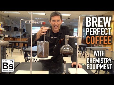 Brew Perfect Coffee With Chemistry Equipment - DIY Siphon Brewer
