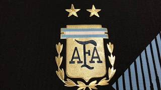 Argentina World Cup Authentic Away Jersey 2018 - cheapsoccerjersey.org