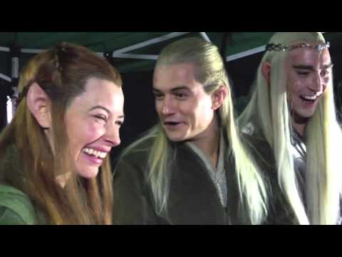 Orlando Bloom, Evangeline Lilly and Lee Pace React to 'Happy Hobbits' Livestream  HD