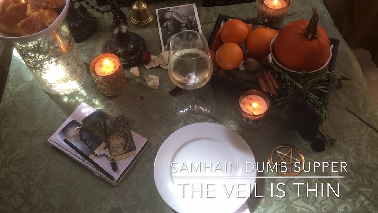 Samhain Dumb Supper