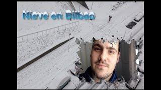 Nieve en Bilbao