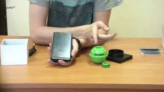 Видеообзор беспроводного Wi-Fi эхолота Fish Finder FF916 Luckylaker