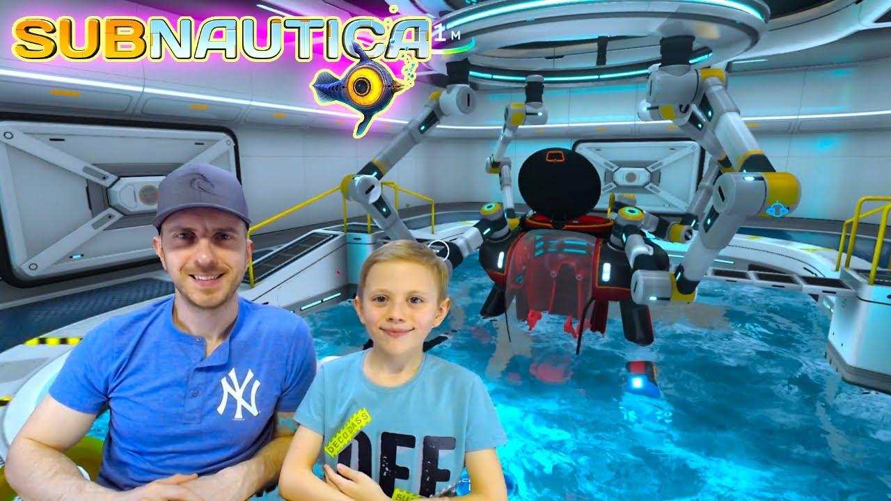 SUBNAUTICA игра симулятор про подводный мир ВЫЖИВАНИЯ и КРЕАТИВА. 13+