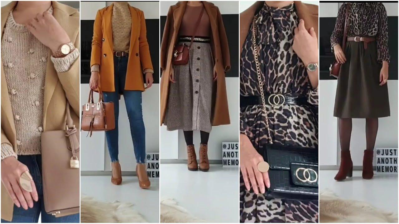 [VIDEO] - FALL & WINTER OUTFIT IDEAS 2020 !! أروع التنسيقات و آخر صيحات الموضة لعام 2020 لا يفوتكم 3