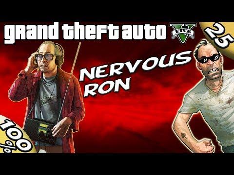 GTA V - NERVOUS RON [100% GOLD Walkthrough]