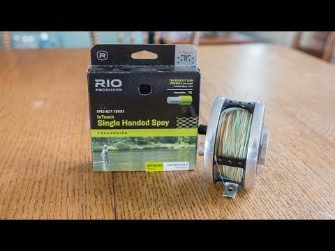 RIO Single Hand Spey Line 3D Review