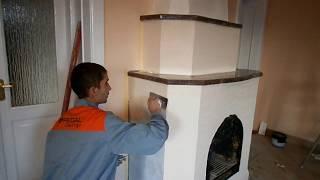видео Как сделать камин из печки: инструкция по переделке