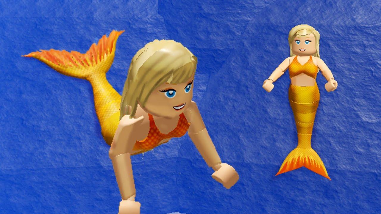 H2o Mako Mermaids Game Roblox Youtube