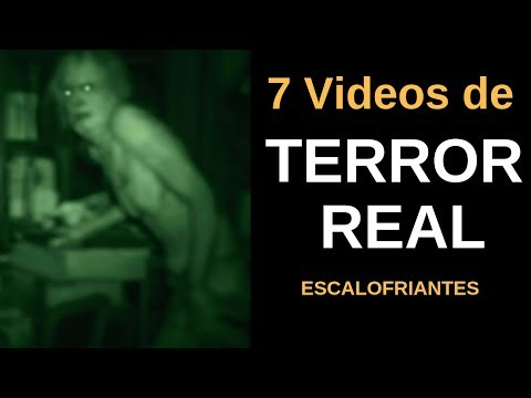 7 VIDEOS DE TERROR REAL  Escalofriantes Vol.6 l Pasillo Infinito