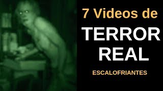 7 VIDEOS DE TERROR REAL  Escalofriantes Vol.6 l Pasillo Infinito