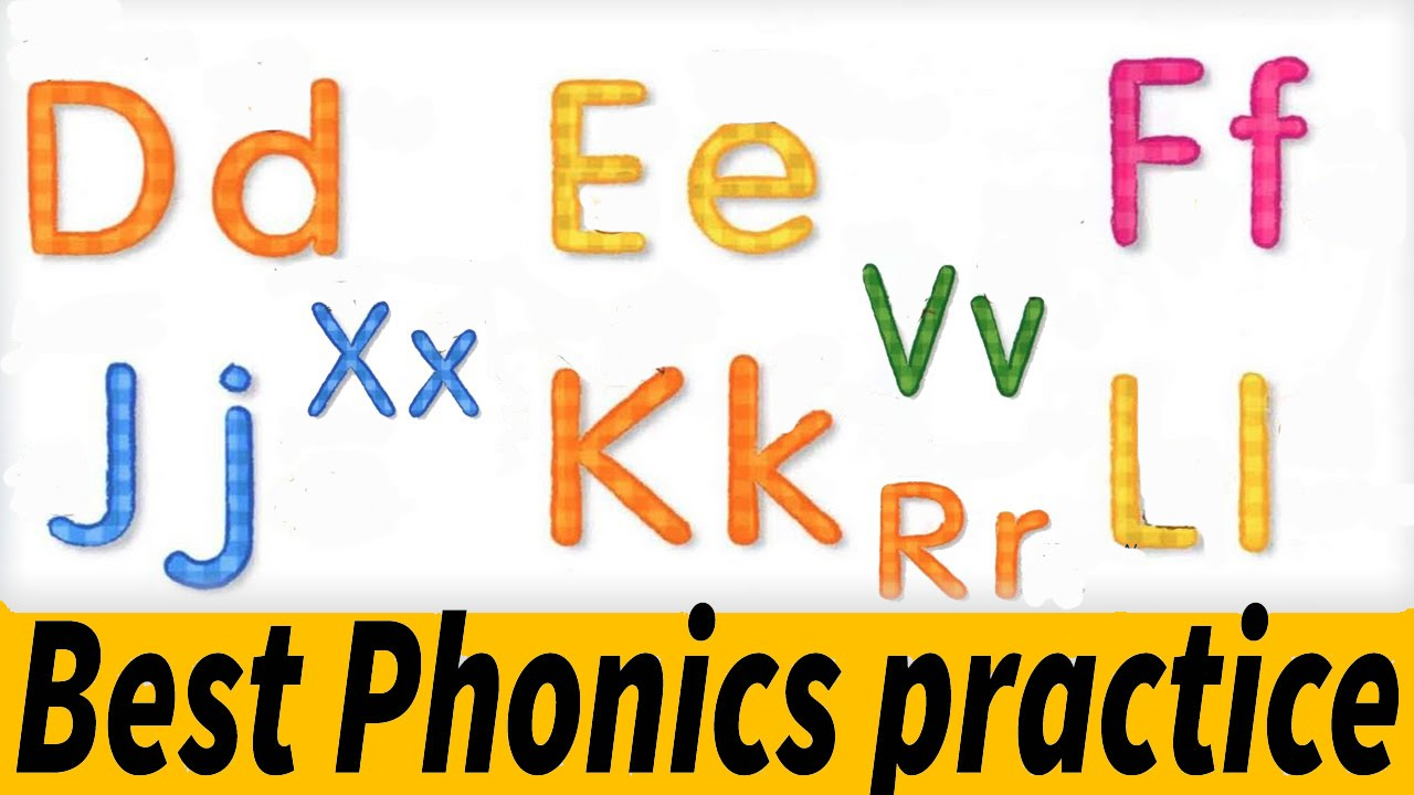 English Phonics Reading for Kids