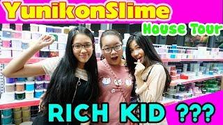 YUNIKON SLIME HOUSE TOUR | Bí Mật Của Nhà YunikonSlime | RICH KID