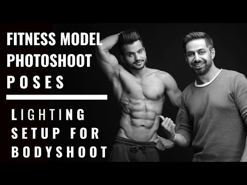 Fitness Body | Modeling Photo Shoots Poses | Photography Tips | Modeling Poses | Lighting Setup