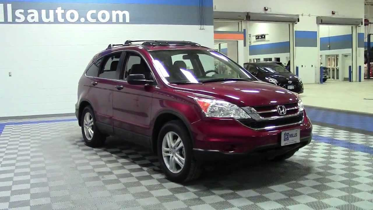 2011 Honda Crv 4wd Ex Certified One Owner 6h140090a