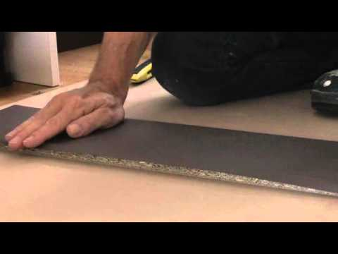 How to install the kickboards in a DIY kitchen or laundry