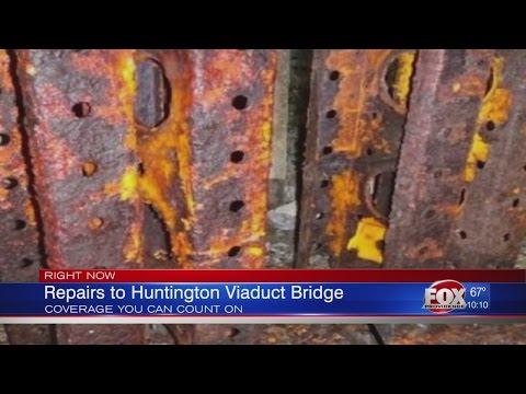 Huntington Viaduct Work