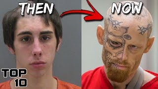 Top 10 Scary Teen Convicts And What They Look Like Today