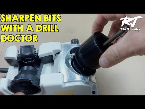 Using Drill Doctor To Sharpen A Drill Bit
