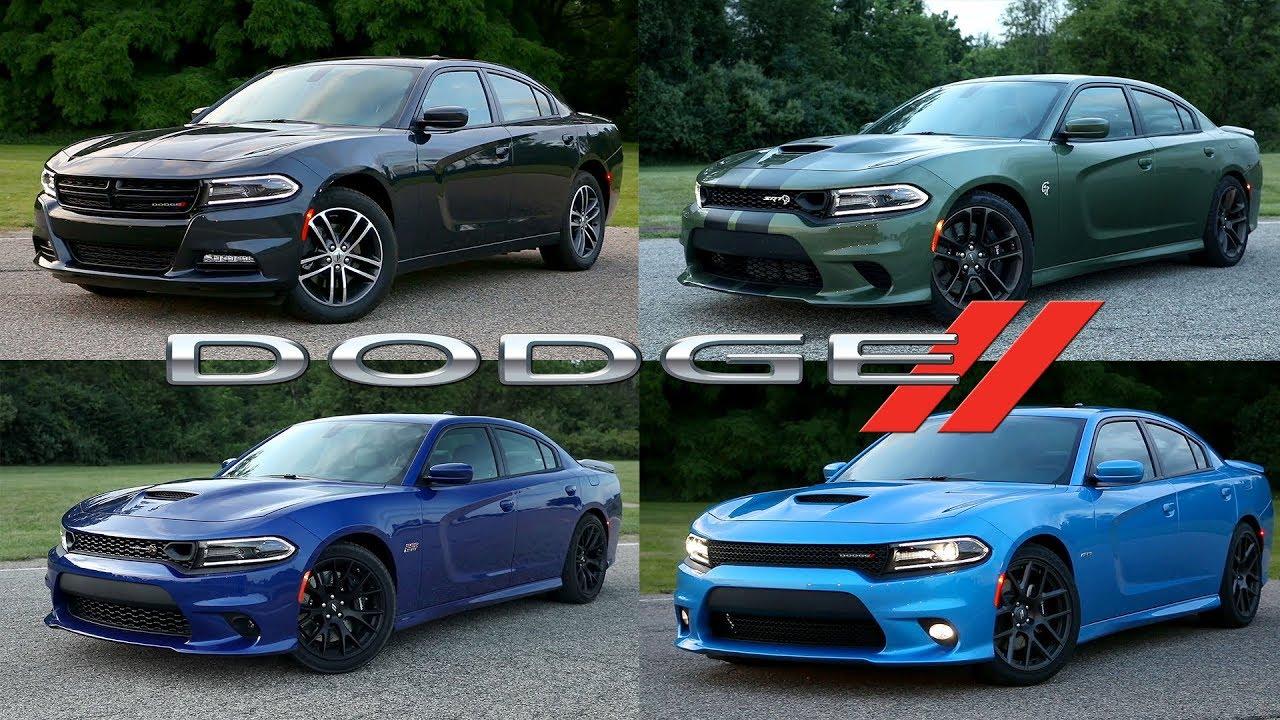 2019 Dodge Charger Lineup: R/T   R/T Scat Pack   SRT ...
