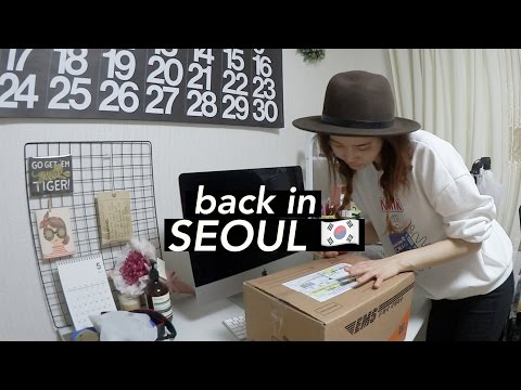 Flying Back to Seoul + Catching Up on Blogger Mail