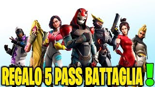 TRAILER FORTNITE SEASON 9 PASS BATTAGLIA LIVE - 80 ABBONATI REGALO 2 SKIN 70/80
