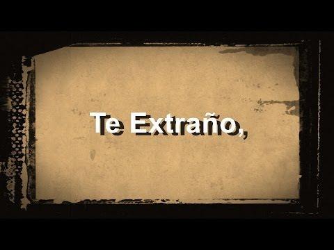 Te extraño - Wisin Feat. Franco de Vita - Letra - HD