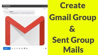 How To Create A Group In Gmail & Send Group Email To Your Contacts-2020