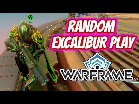 Warframe   Random Excalibur Gameplay