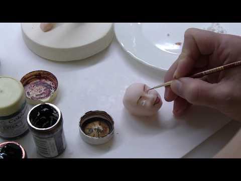 Фигурка из мастики - Кондитер (Figurine of sugar paste - Confectioner)