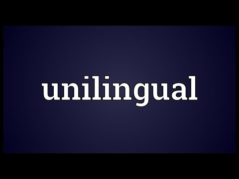 Header of unilingual