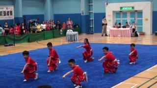 滬江小學B~學校組小學組長拳第六名 (2016全港公開新秀武