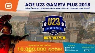 AOE | 4vs4 Random | GameTV vs Hà Nội | Ngày 04-09-2018