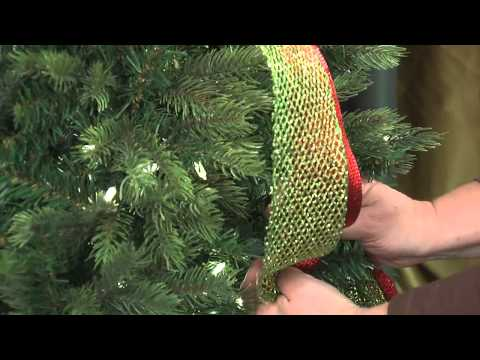 HOW TO EASILY TIE CHRISTMAS WIRE RIBBON BOW FOR GIFTS! 2015 from YouTube · Duration:  4 minutes 24 seconds
