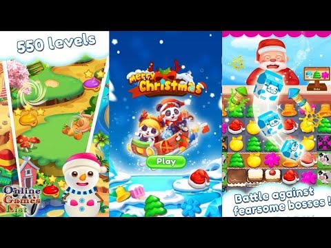 Merry Christmas: Match 3 Android Gameplay