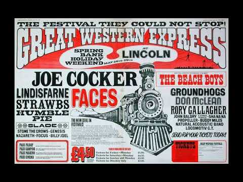 Rory Gallagher : Great Western Express Festival. May 1972