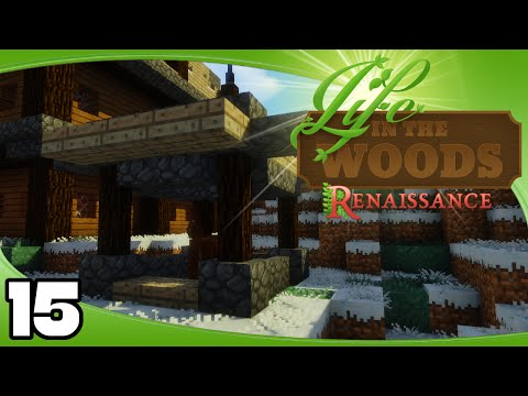 Life in the Woods: Renaissance - Ep. 15: Single-Horse Stable!