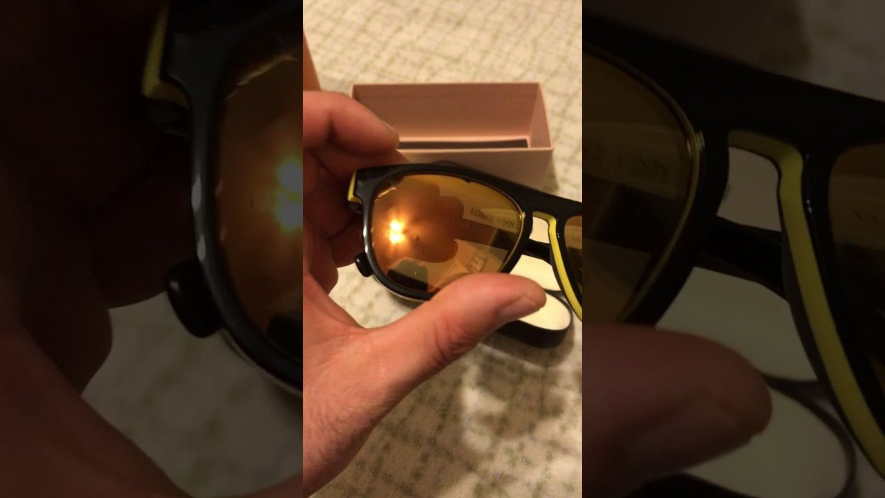19776be4ddab Louis Vuitton Oliver sunglasses men s - YouTube