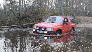 Нива утонула, на очереди Opel Frontera!
