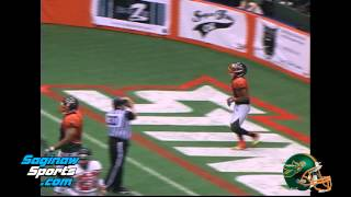 Saginaw Sting vs Detroit Thunder, CIFL Football
