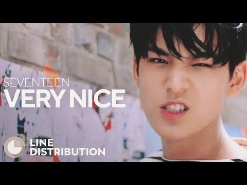 SEVENTEEN - Very Nice (Line Distribution)