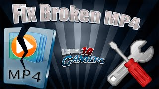 HOW TO FIX CORRUPT MP4 FILE   TechTime #Ep. 5 ✔